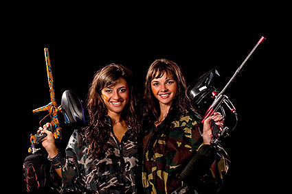 Girls like Paintball